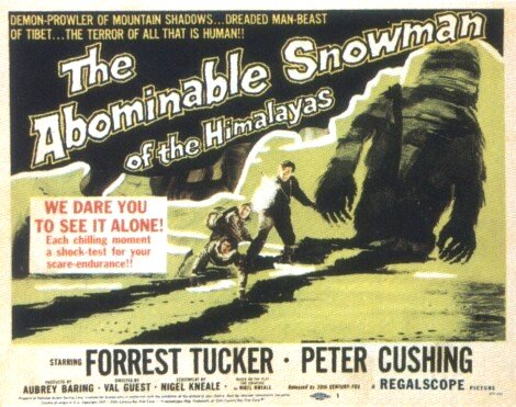 Abominable Snowman of the Himalayas (1957)