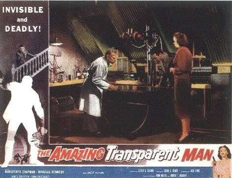 Amazing Transparent Man (1960)