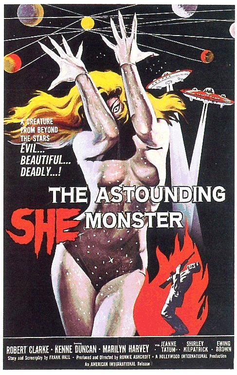 Astounding She Monster (1957)