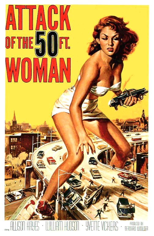 Attack of the 50 Foot Woman (1957)