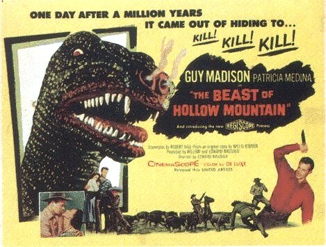 Beast of Hollow Mountain (1956)