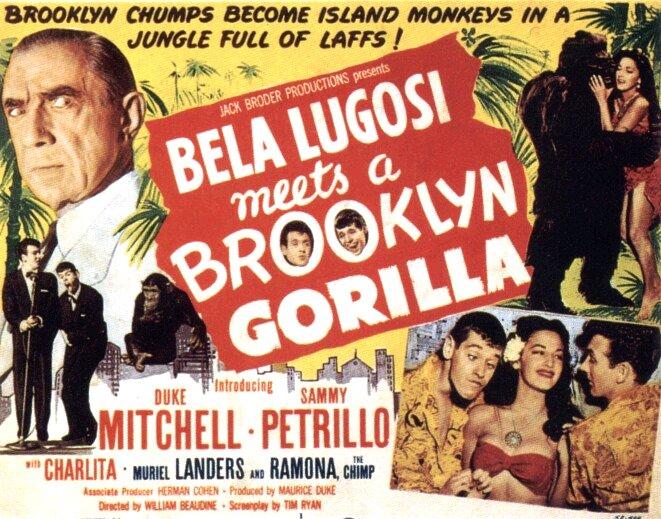 Bela Lugosi Meeta A Brooklyn Gorilla (1952)