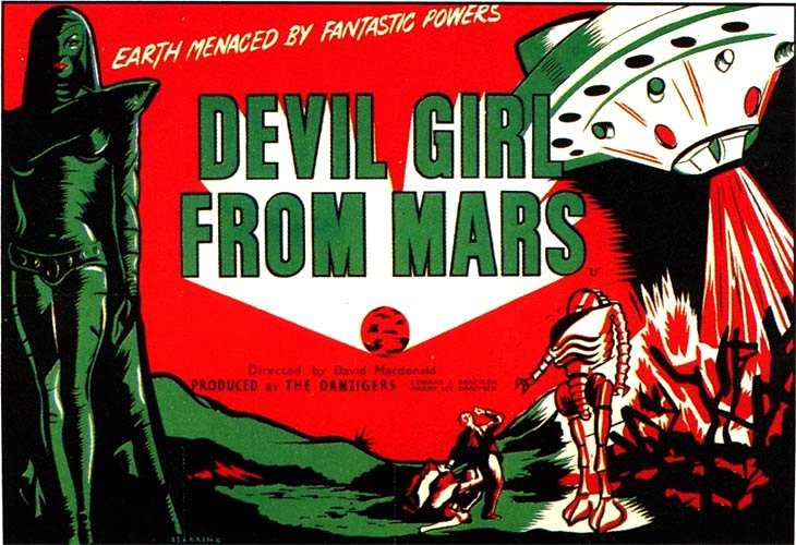 Devil Girl From Mars (1954)