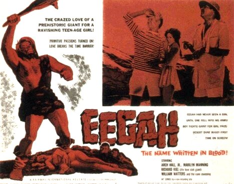 Image result for eegah 1962