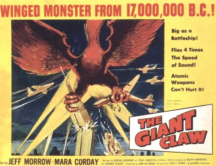Giant Claw (1957)