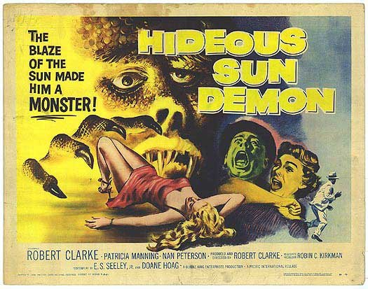 Hideous Sun Demon (1959)