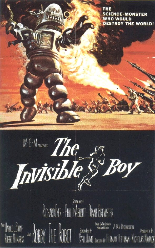 Invisible Boy (1957)