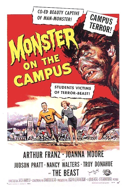 Monster On Campus (1958)