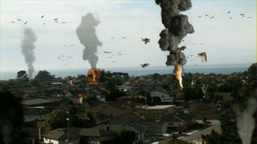 Bomb Bird Exploding Leads to Exploding Birds