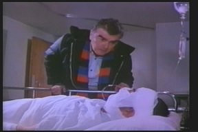 Hank in the hospital