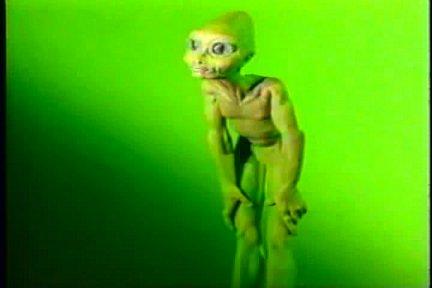 Goofy alien