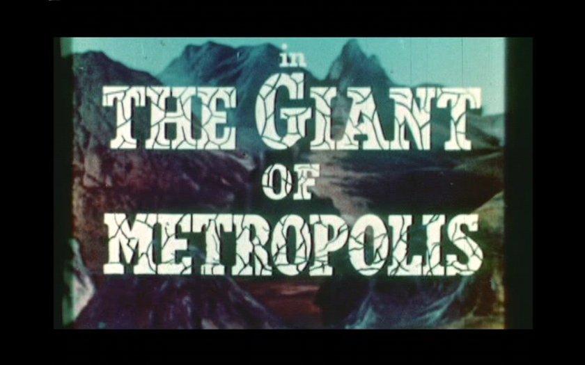 Giant of Metropolis Title
