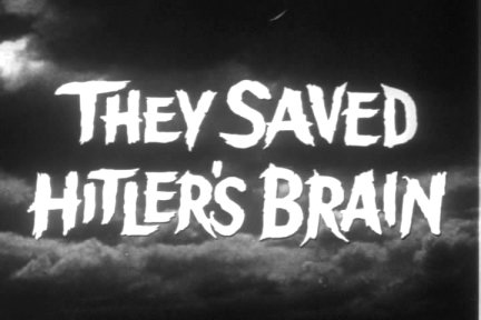 They Saved Hitlers Brain Title