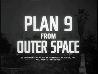 Plan 9 From Outer Space title