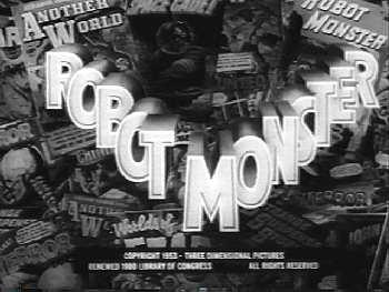 Robot Monster title