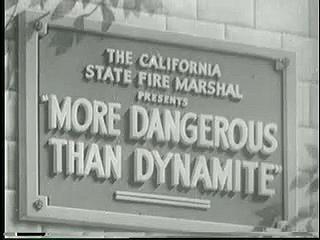 More Dangerous Than Dynamite